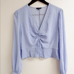 DYNAMITE delicate, pretty blouse!